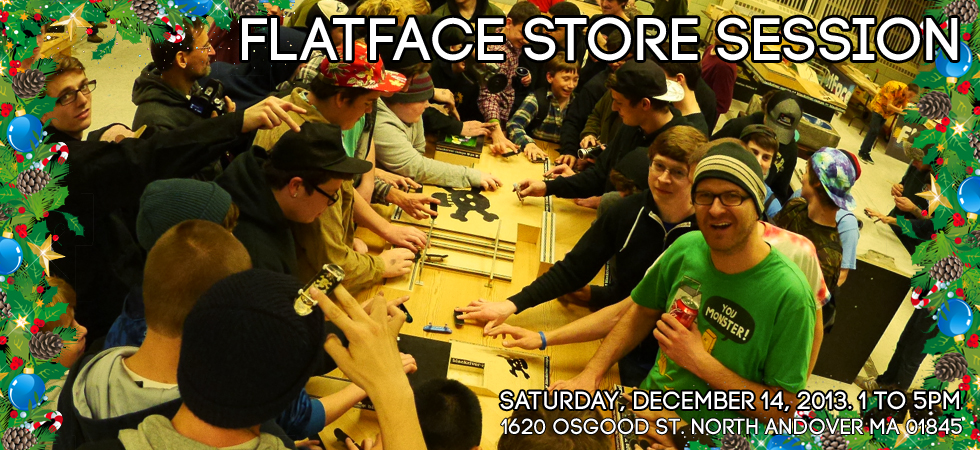 Flatface store sessions Storesession